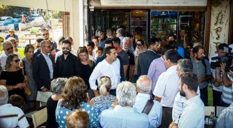 Η υπόσχεση του Τσίπρα στους κατοίκους στο Μάτι