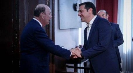 Γεύμα εργασίας με τον υπουργό Εμπορίου των ΗΠΑ θα έχει ο Τσίπρας