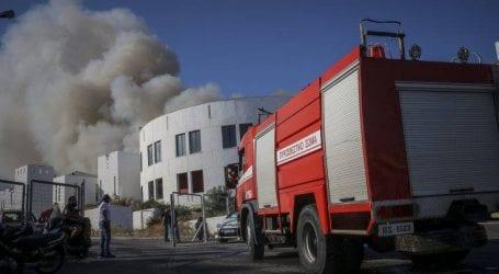 Έσβησε μετά από μεγάλη κινητοποίηση της Πυροσβεστικής η φωτιά στο Ηράκλειο