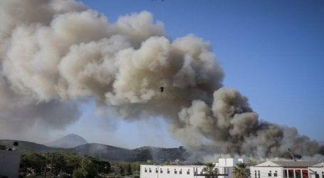 Ξεκίνησαν οι μετρήσεις για την ατμοσφαιρική ρύπανση μετά τη φωτιά στο πανεπιστήμιο Κρήτης