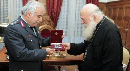 Τον Αρχιεπίσκοπο Ιερώνυμο επισκέφθηκε ο νέος αρχηγός της ΕΛ.ΑΣ.
