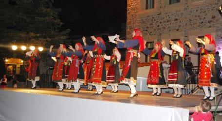 Χορευτικά τμήματα από τον Συλ. Ανατολικής Ρωμυλίας Βόλου