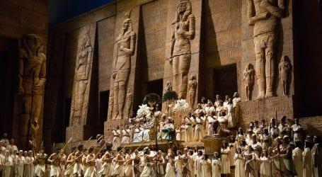 Πρεμιέρα του βραβευμένου προγράμματος «The Met: Live in HD»,  της Metropolitan Opera της Νέας Υόρκης, με την όπερα ΑΪΝΤΑ