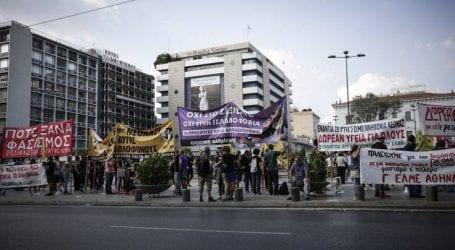 Aντιφασιστικό συλλαλητήριο στο κέντρο της Αθήνας