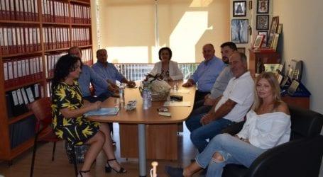 Τον Δήμο Ρήγα Φεραίου επισκέφθηκε η υφυπουργός Εσωτερικών