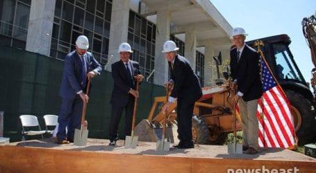 Ανακαίνιση στο παλιό κτίριο της πρεσβείας των ΗΠΑ