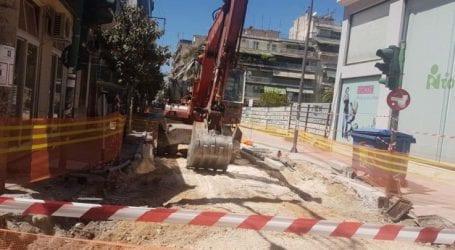 Eργασίες ασφαλτόστρωσης αύριο Τετάρτη σε τμήμα της Ηπείρου στη Λάρισα – Διακοπή κυκλοφορίας