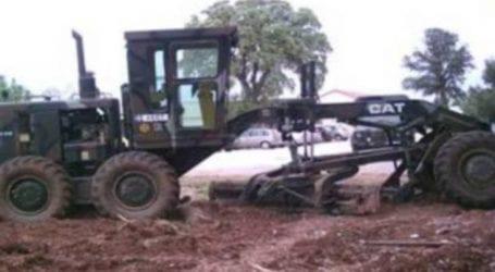 Βαρύ μηχάνημα του στρατού έπεσε σε χαράδρα στον Όλυμπο