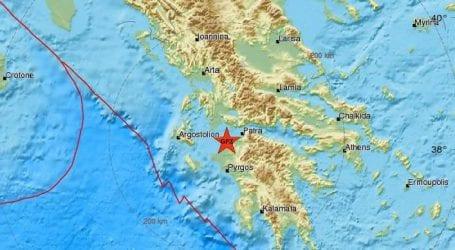 Σεισμός τώρα στην Αχαϊα