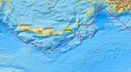 Σεισμός τώρα στην Κρήτη
