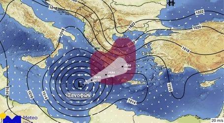 Τα τελευταία στοιχεία για την πορεία του κυκλώνα στην Ελλάδα
