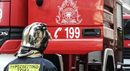Φωτιά ξέσπασε το πρωί σε διαμέρισμα στο Παγκράτι Αττικής
