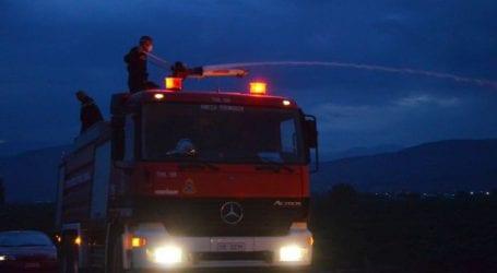 Πυρκαγιά σε εξέλιξη στην περιοχή Κελεφά Λακωνίας