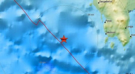 Αναθεωρήθηκε προς τα πάνω το μέγεθος του ισχυρού σεισμού στη Μεσσηνία