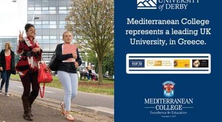 Mediterranean College, αναγνωρισμένες σπουδές στο καλύτερο Βρετανικό Πανεπιστήμιο, στην Ελλάδα