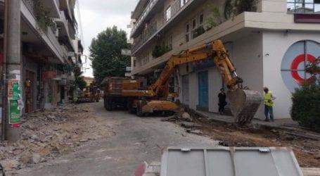 Προσωρινές κυκλοφοριακές ρυθμίσεις στην Μανδηλαρά στη Λάρισα