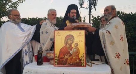 Εορτή της Παναγίας της Μυρτιδιωτίσσης στον Κυπάρισσο