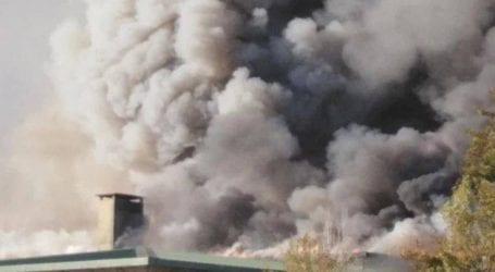 Φωτογραφίες και βίντεο από τη μεγάλη φωτιά στο Πανεπιστήμιο Κρήτης