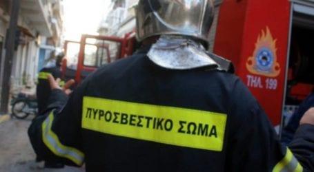 Στις φλόγες τυλίχθηκε διαμέρισμα στο συγκρότημα των παλιών εργατικών κατοικιών στον Τύρναβο