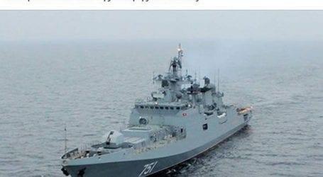 Η καινούργια ρωσική φρεγάτα Admiral Essen έρχεται στον Πόρο