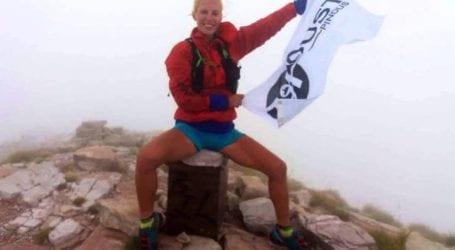 Η Ασημίνα Ιγγλέζου έτρεξε σε 16 μέρες ολόκληρη την Πίνδο