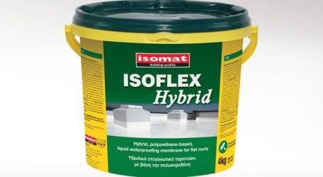 Ταράτσα με λιμνάζοντα νερά; Στεγανώστε την αποτελεσματικά με το ISOFLEX HYBRID!