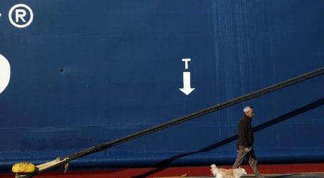 Δεμένα τα πλοία την Τετάρτη 28 Νοεμβρίου