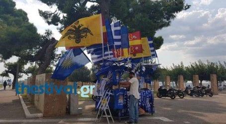 Ξεκίνησε η προσυγκέντρωση της διαδήλωσης για τη Μακεδονία