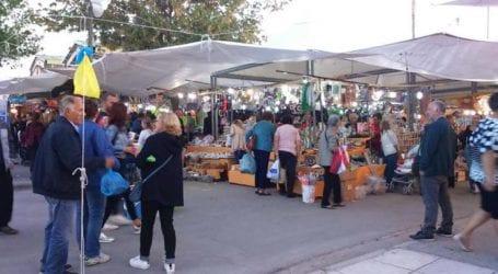 Πολύ μεγάλη η κίνηση στο Παζάρι της Λάρισας, αλλά «κλειδωμένη» η τσέπη των Λαρισαίων (φωτο)