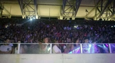 Πρώτες εικόνες: Χιλιάδες Λαρισαίων στο AEL FC ARENA για τη συναυλία Ρέμου, Θεοδωρίδου και Παπαρίζου