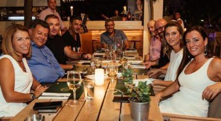Σε γνωστό καφέ – εστιατόριο της Λάρισας δείπνησαν Ρέμος – Πηλαδάκης