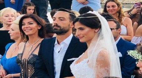 Ο γάμος, το φιλί και ο ξέφρενος χορός της Χριστίνας Μπόμπα