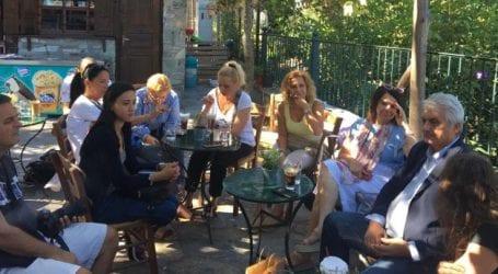 Συνάντηση Κολλάτου με Σέρβους δημοσιογράφους