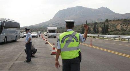 Διεκόπη η κυκλοφορία στην εθνική οδό Λαμίας-Αθηνών λόγω εκτροπής νταλίκας