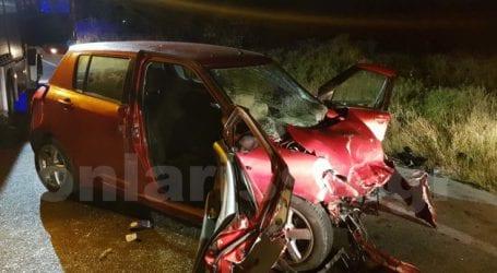 Σοβαρό τροχαίο με 4 τραυματίες λίγο έξω από τη Λάρισα – Δείτε φωτογραφίες