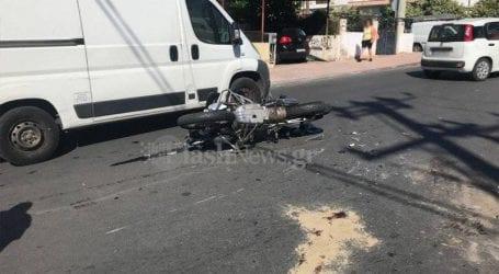 Νεκρός μοτοσικλετιστής στα Χανιά
