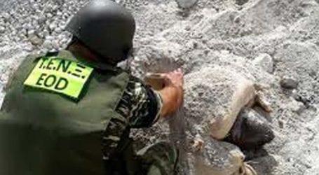 Βρέθηκε βλήμα όλμου στην Καλλιπεύκη – Επιχείρηση εξουδετέρωσής του