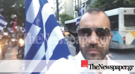 Μηχανοκίνητη πορεία στα γραφεία του ΣΥΡΙΖΑ έκανε ο Παν. Ηλιόπουλος [εικόνα]