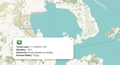Σεισμός στους Αγίους Θεοδώρους Μαγνησίας [χάρτης]