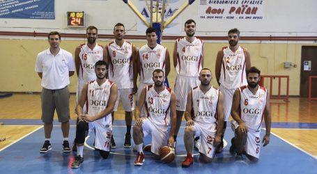 Ευχές του ΔΣ του ΑΣ Ολυμπιακός Βόλου στην ομάδα μπάσκετ ανδρών
