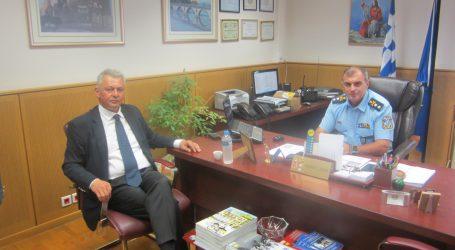 Εθιμοτυπική επίσκεψη του Δημάρχου Σοφάδων στο Γενικό Περιφερειακό Αστυνομικό Διευθυντή Θεσσαλίας