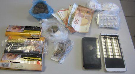Συνελήφθησαν δύο άτομα στη Λάρισα με ναρκωτικά