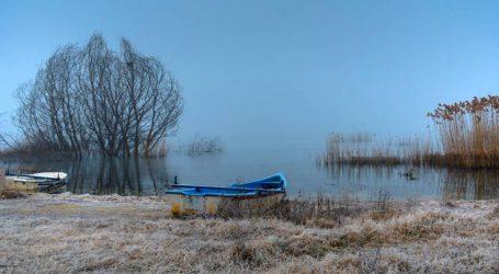 Η ειδυλλιακή ατμόσφαιρα στη λίμνη Βεγορίτιδα