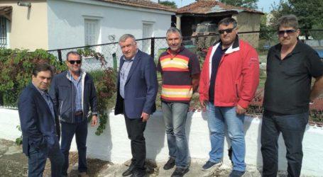 Ρήγμα στο έδαφος προβληματίζει κατοίκους και δήμο σε χωριό έξω από τη Λάρισα