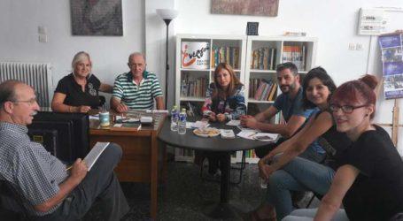 Στον πολυχώρο αλληλεγγύης των Ενεργών Πολιτών το Κέντρο Κοινότητας Λάρισας
