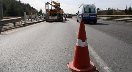 Κλείνουν αύριο δύο λωρίδες κυκλοφορίας στην εθνική οδό στη Μαλακάσα