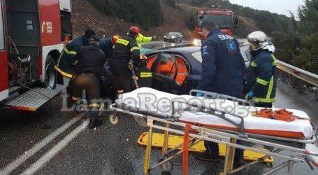 Σοβαρό τροχαίο με τραυματισμό κοντά στη Στυλίδα