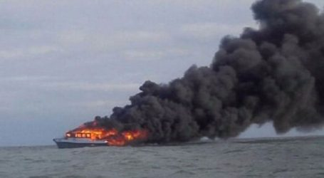 Πυρκαγιά σε πλοίο με εκατοντάδες επιβάτες στη Βαλτική Θάλασσα
