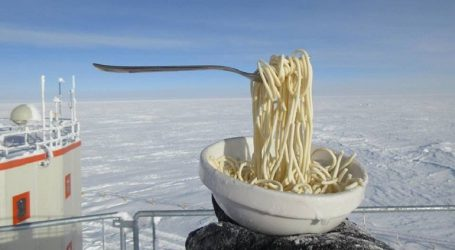 Παγωμένα noodles από την Ανταρκτική «κερνάει» ο Ευρωπαϊκός Οργανισμός Διαστήματος