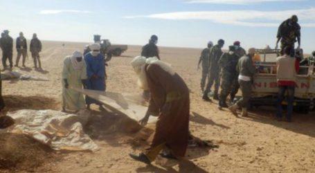74 μετανάστες διασώθηκαν στην έρημο κοντά στα σύνορα με την Αλγερία